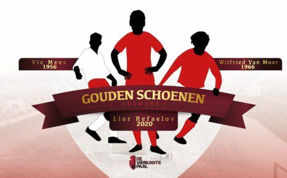 Antwerpspelers in de Gouden Schoen